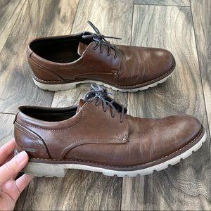 Rockport true sport brown boots size 10